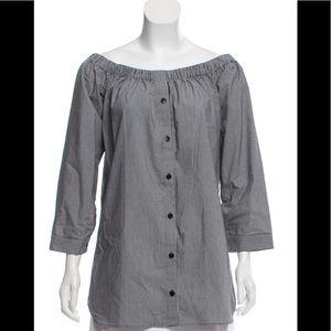 Reformation off the shoulder blouse